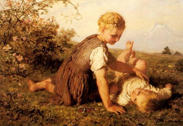 Wilhelm Friedrich An Autumn Idyll